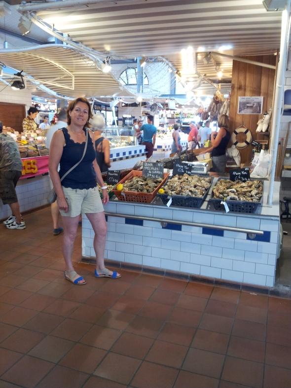 Marleen kiest oesters:  nr. 2 en plattes van het eiland