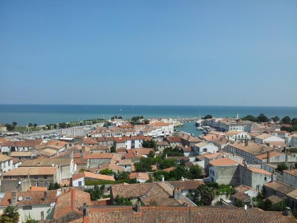 uitzicht vanaf de kerktoren