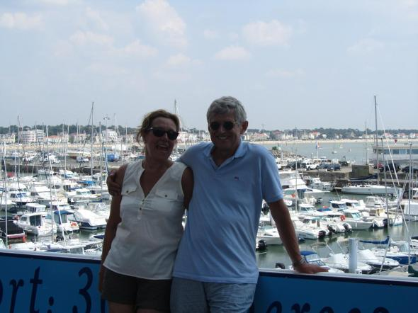 bij de haven van Royan