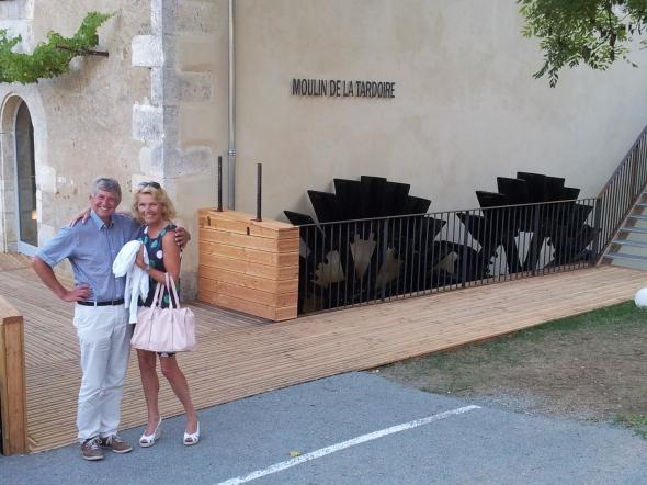 le moulin de la Tardiére, pas geopend restaurant