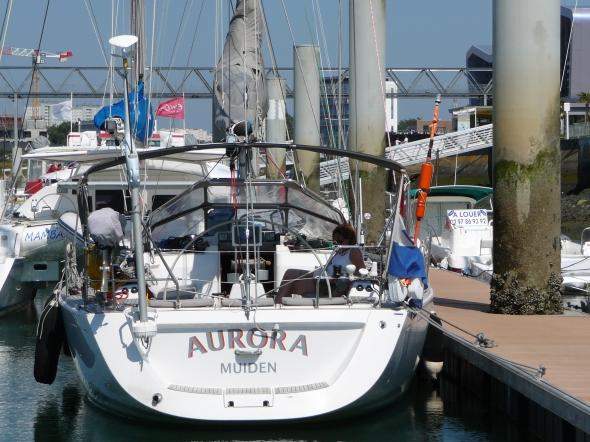 Aurora in Port Glorieux de Lorient