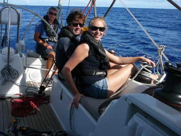 Frederique en Jeroen zeilen mee naar Lanzarote