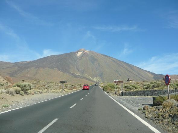 vilkaan de Teide met eeuwige sneeuw