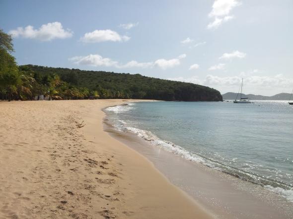 strand in saline bay