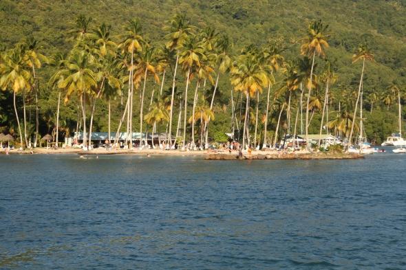 Marigot Bay (het strand)