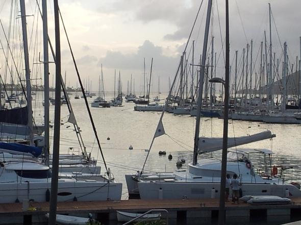 le Marin: thuishaven van 200 huurcatamarans