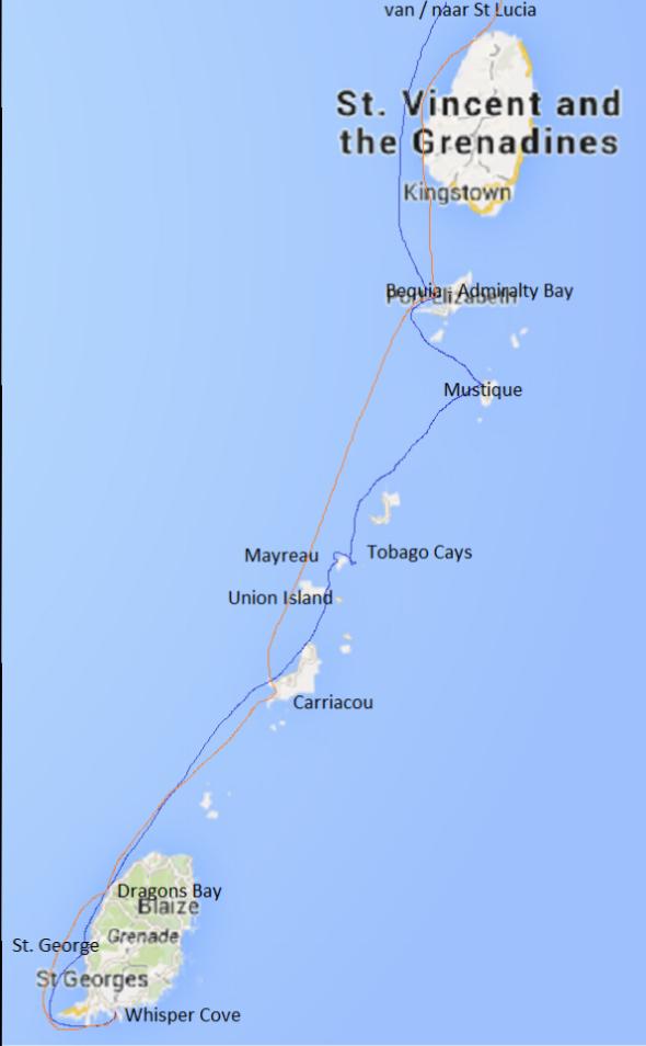 trip Grenadines en Grenada