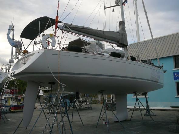 piekfijn in 2-4 lagen Shark Grey antifouling