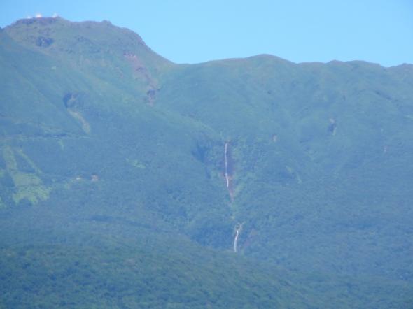 waterval die Columbus op het idee bracht dat Guadeloupe belangrijk kon zijn (water!)