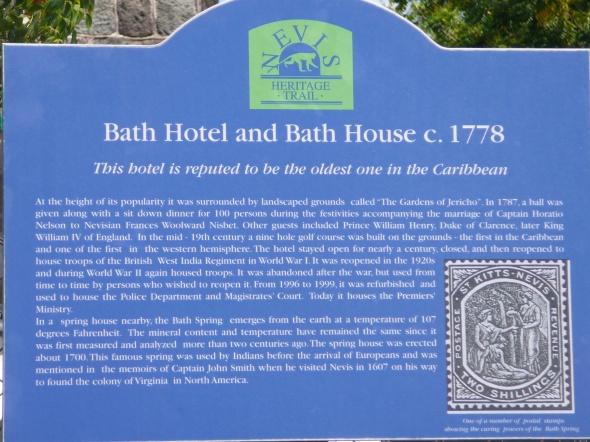 Nevis, de basis voor het toerisme in de Carieb