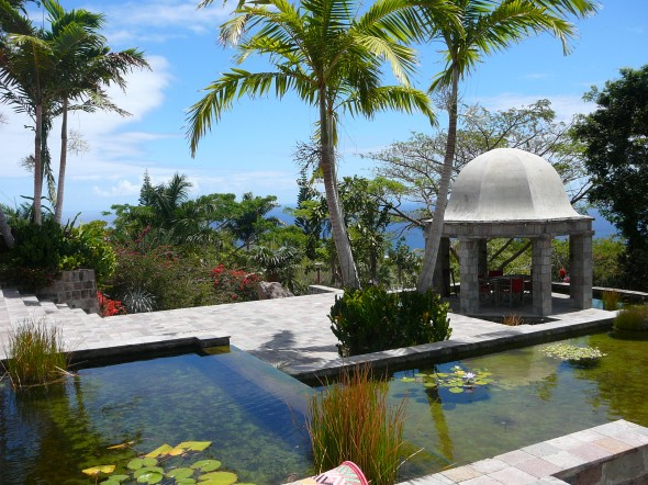 Golden Rock Estate op Nevis
