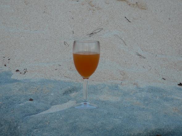 borrel of was het toch een bbq op het strand?
