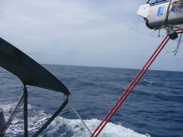 zoek de vissersboei (inzoomen helpt)