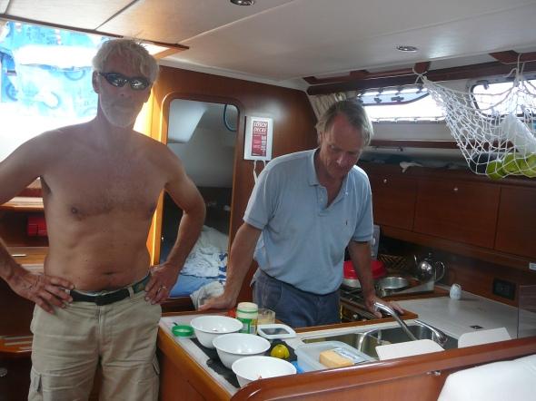 Dirk en Pieter beloven dat de schipper niet hoeft te koken....
