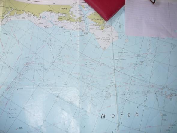 onze route (heel goed zoeken naar het potloodlijntje)