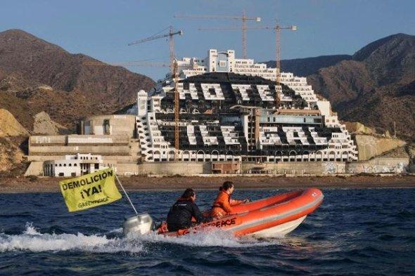 Greenpeace maakt zich kwaad
