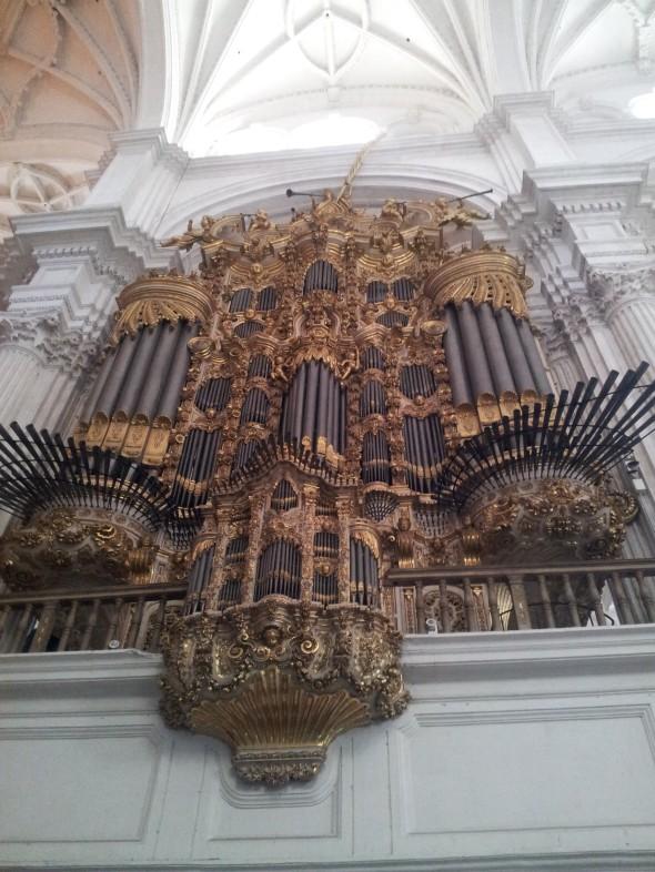 orgel van de kathedraal