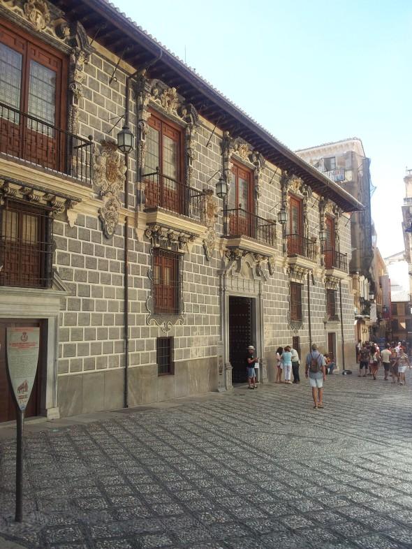 paleis naast de kathedraal