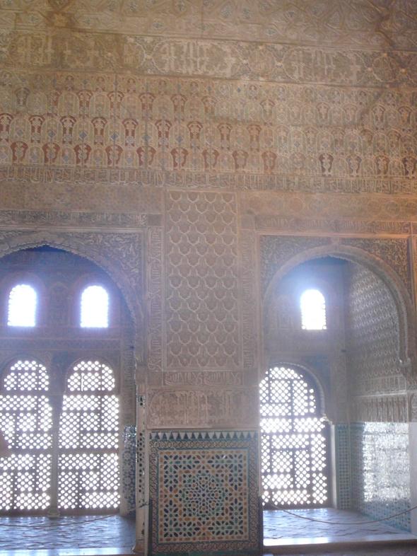 in een van de Nasrid Palaces
