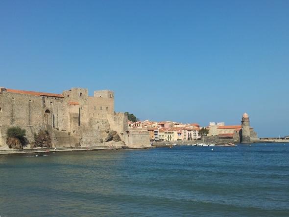 Het kasteel van de koning in Collioure