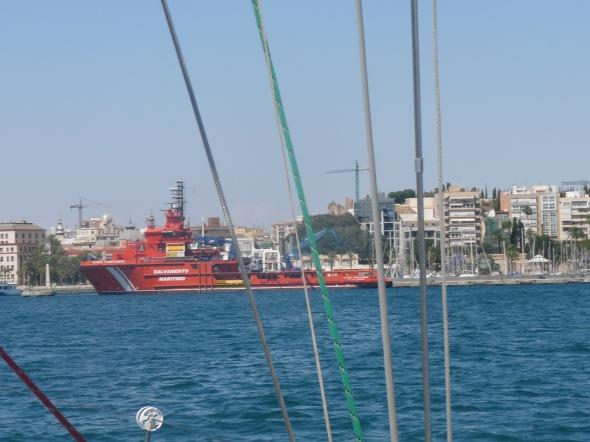 zeereddingboot in Cartagena