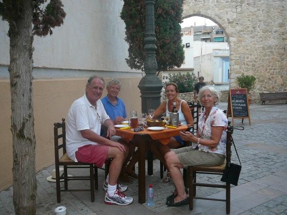 eten in Calpe oude stad