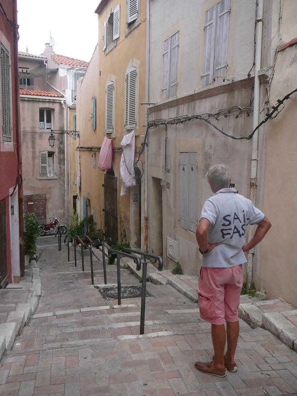 Oude stad, oude bermuda