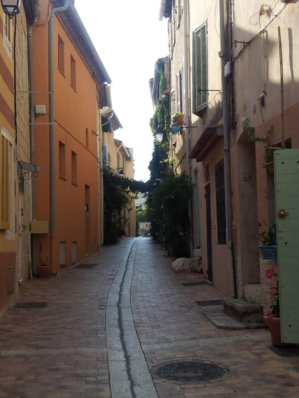 straatje in Cassis