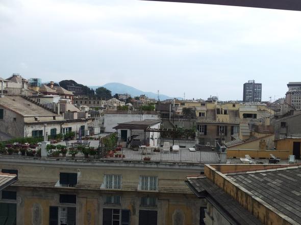 uitzicht vanaf het dak van Palazzo de Spinola
