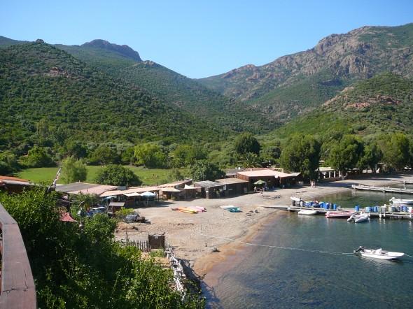 zicht op de Port Girolata