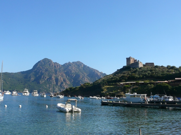 zicht op Port Girolata