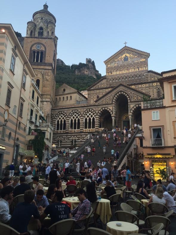 kerk in Amalfi