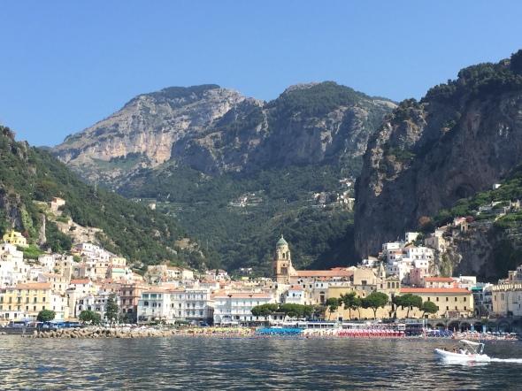 Vertrek uit Amalfi: op en top Italië