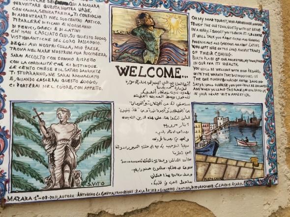 welkom in Mazara