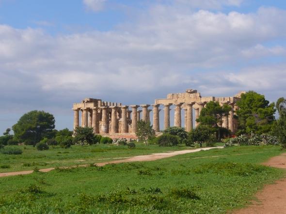 de tempels van Selinunte