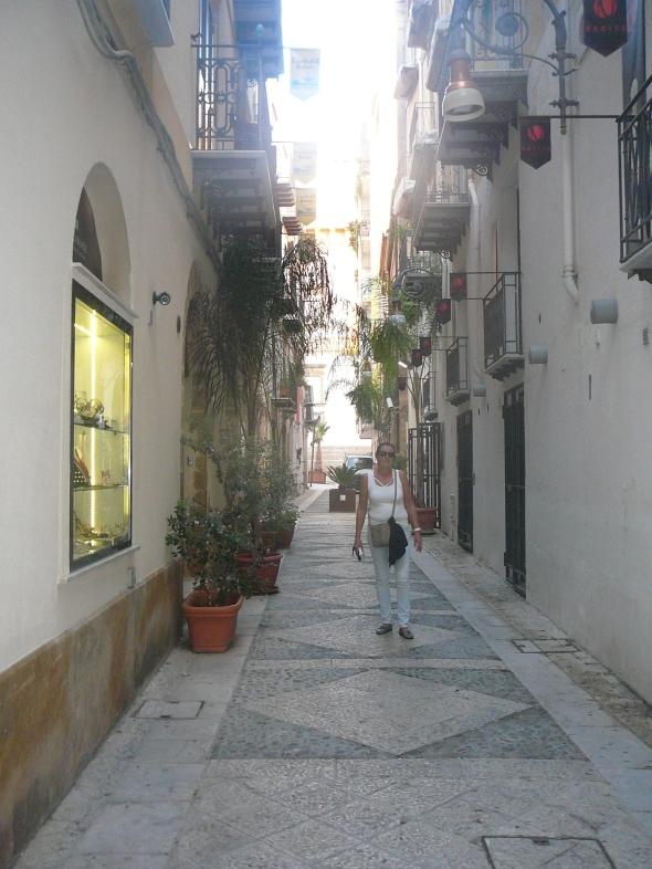 straatjes in Sciacca