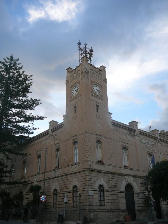 Licata: het emeentehuis