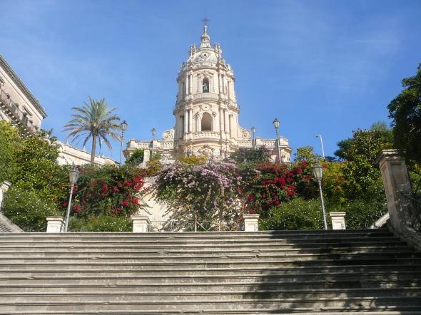 1 van de kathedralen van Modica