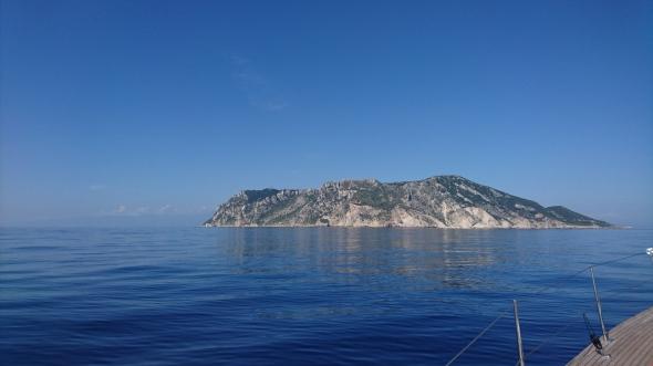 Othoni van zee gezien