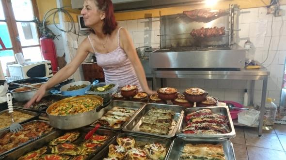 in de keuken van Alexandros