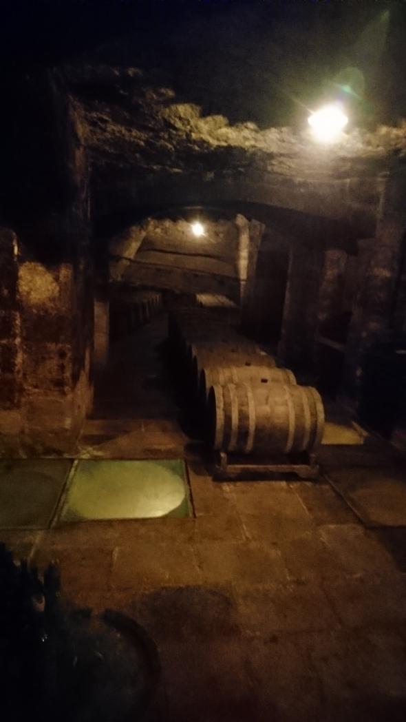 wijnkelders van Guardini uit de 16e eeuw